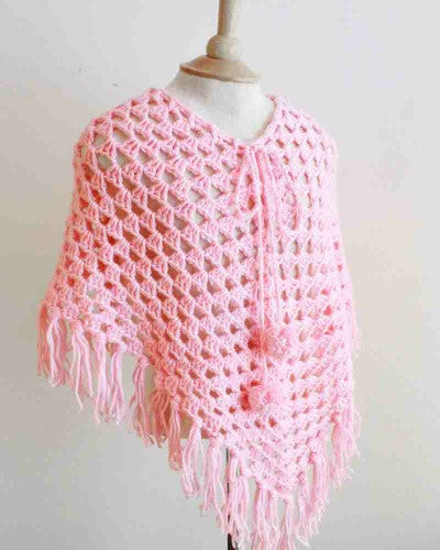 Ponchos For Kids Crochet Pattern Maggie S Crochet
