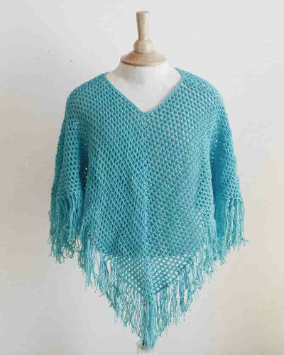 Ponchos For Kids Crochet Pattern Maggies Crochet