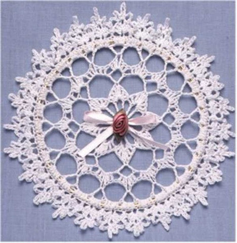 Lace Suncatcher and Box Crochet Pattern - Maggie's Crochet