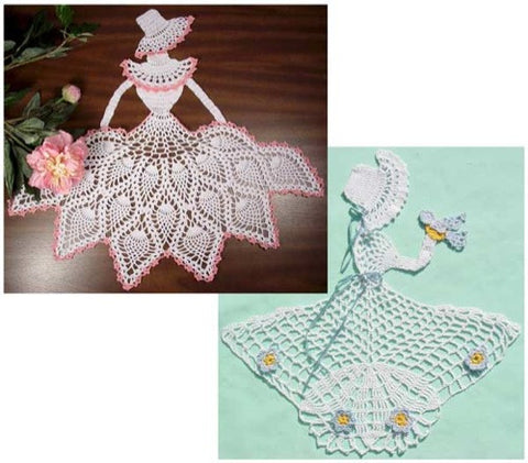 ladies of lace crochet pattern