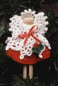 Little Angels Christmas Ornament Set - Maggie's Crochet