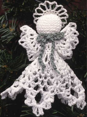 Little Angels Christmas Ornament Set Maggie S Crochet