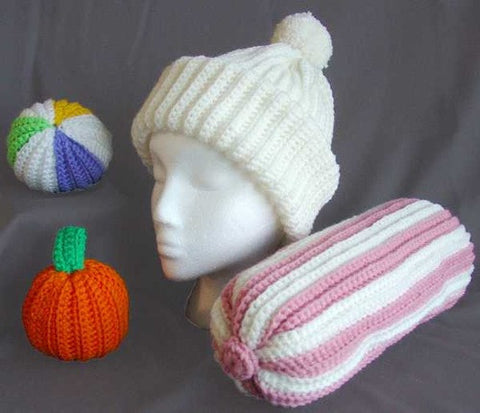 magic tube set hat neck pillow pumpkin baby toy