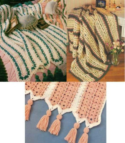 Mile-a-Minute Afghans Crochet Pattern - Maggie's Crochet