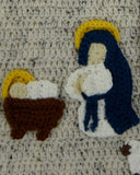 Nativity Afghan and Wall Hanging Crochet Pattern - Maggie's Crochet