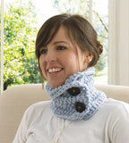 30-Minute Neck Warmers Crochet Pattern: Easy Beginner - Maggie's Crochet