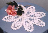 pineapple doily and tale topper