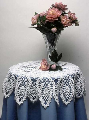 pineapple doily and table topper