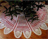 Pineapple Tree Skirt Crochet Patterns - Maggie's Crochet