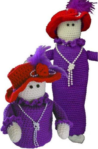 red hat purple dress bag keeper and tp topper
