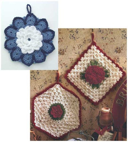 rose potholders