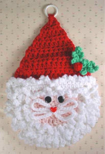 Santa Wall Hangings Crochet Pattern - Maggie's Crochet