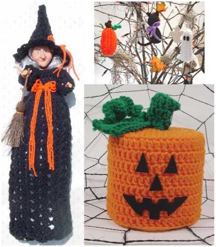 spooky decor bag tp topper ornaments