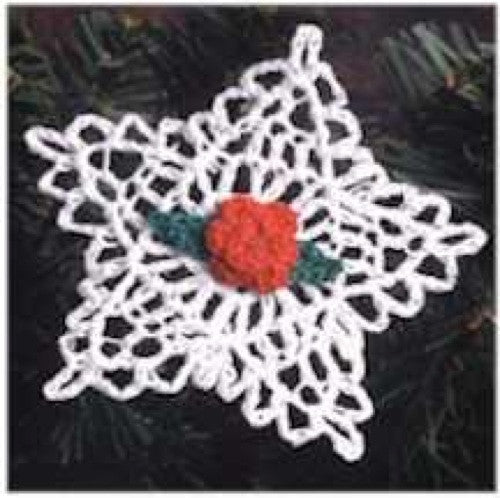 thread star ornament