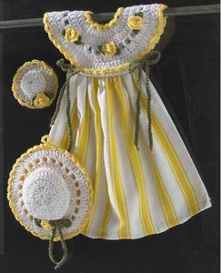 Yellow Rose Oven Door Dress Crochet Pattern - Maggie's Crochet