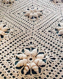 Curlicue Coverlet Crochet Pattern