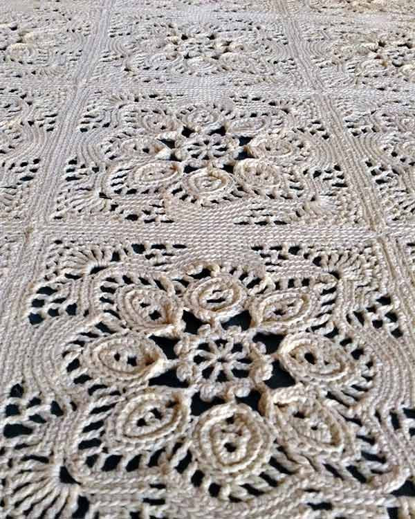 Bedspread Cotton Crochet Thread