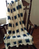 Country Rose Afghan Crochet Pattern
