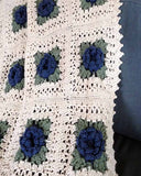 Country Rose Afghan Crochet Pattern - Maggie's Crochet