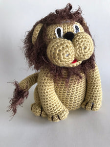 Crochet Pattern Easy Amigurumi Toy Lion - Maggie's Crochet