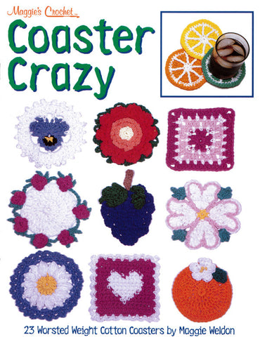 Coaster Crazy Crochet Pattern Leaflet - PDF ONLY