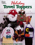 Holiday Towel Toppers Crochet Pattern Leaflet - Maggie's Crochet