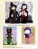 Holiday Bottle Toppers 2 Crochet Pattern Leaflet - Maggie's Crochet