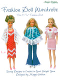 Fashion Doll Wardrobe Crochet Pattern Leaflet - Maggie's Crochet