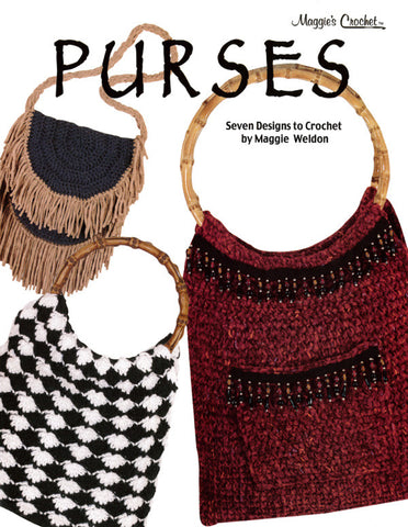Purses Pattern Leaflet Crochet Pattern