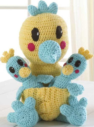 Mama Bird & Chicks Crochet Pattern - Maggie's Crochet