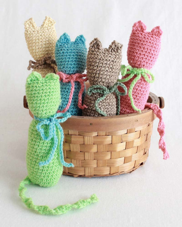Purr-fect Kitties Crochet Pattern - Maggie's Crochet