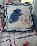 Country Kittens Afghan Crochet  Pattern - Maggie's Crochet