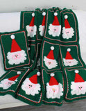 Jolly Santa Afghan and Pillow Crochet Pattern - Maggie's Crochet