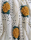 Fashion Rose Afghan Crochet Pattern - Maggie's Crochet