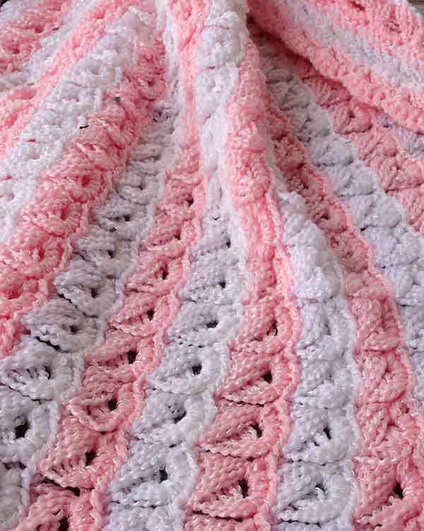 Broomstick Lace Baby Afghan Crochet Pattern Maggie S Crochet
