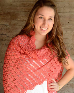 Flamingo Shawl Crochet Pattern - Maggie's Crochet