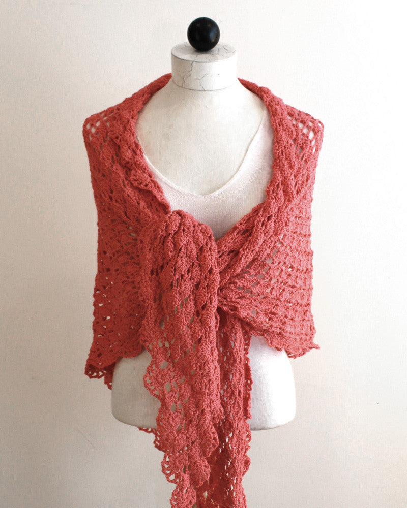Flamingo Shawl Crochet Pattern – Maggie\'s Crochet