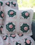 pearly blossoms pillow