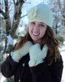 Beginner Hat and Mitten Set Pattern book cover
