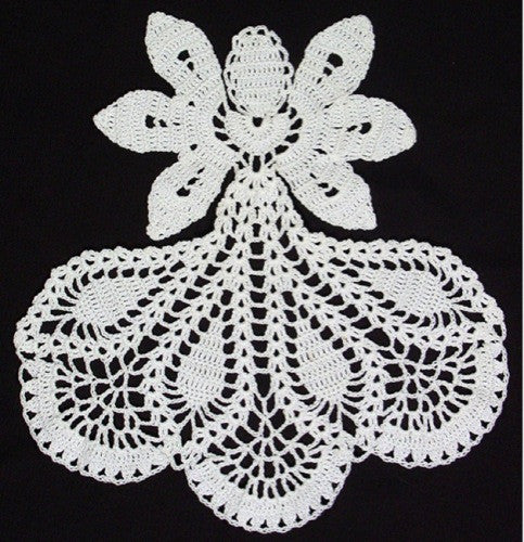 Inspirational Angel Doily Crochet Pattern - Maggie's Crochet