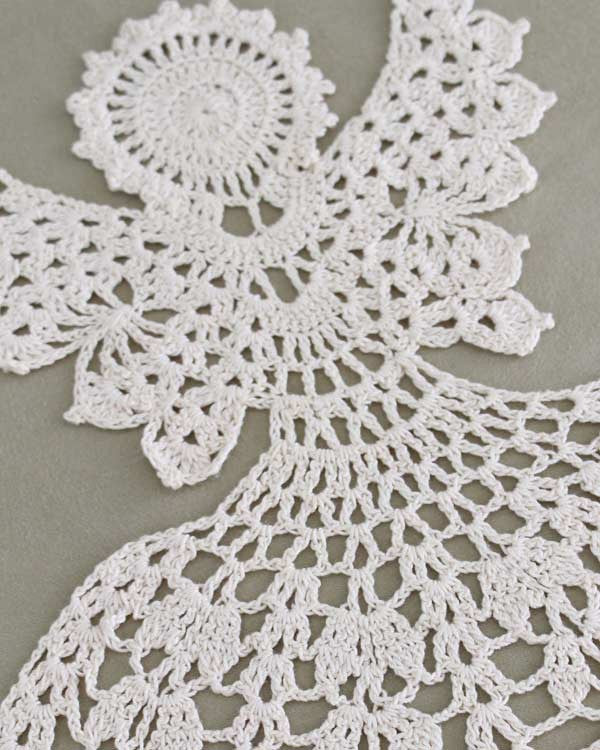 Crochet Pattern Excel : Excelsis Angel Doily Crochet Pattern ? Maggies Crochet