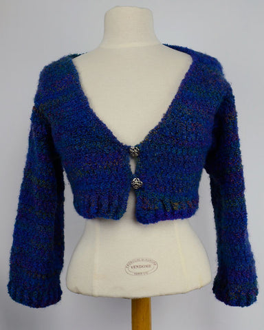 Color Waves Shrug Crochet Pattern - Maggie's Crochet