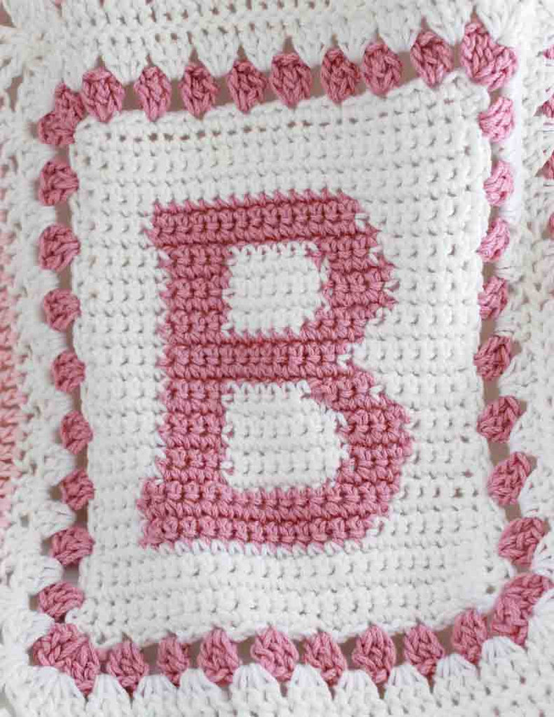 Crochet Pattern For Abc Baby Blanket : Baby Alphabet Blocks Afghan Crochet Pattern ? Maggies Crochet