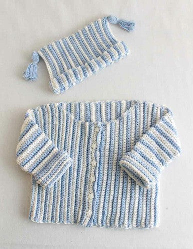 Baby Stripes Set Pattern - Maggie's Crochet
