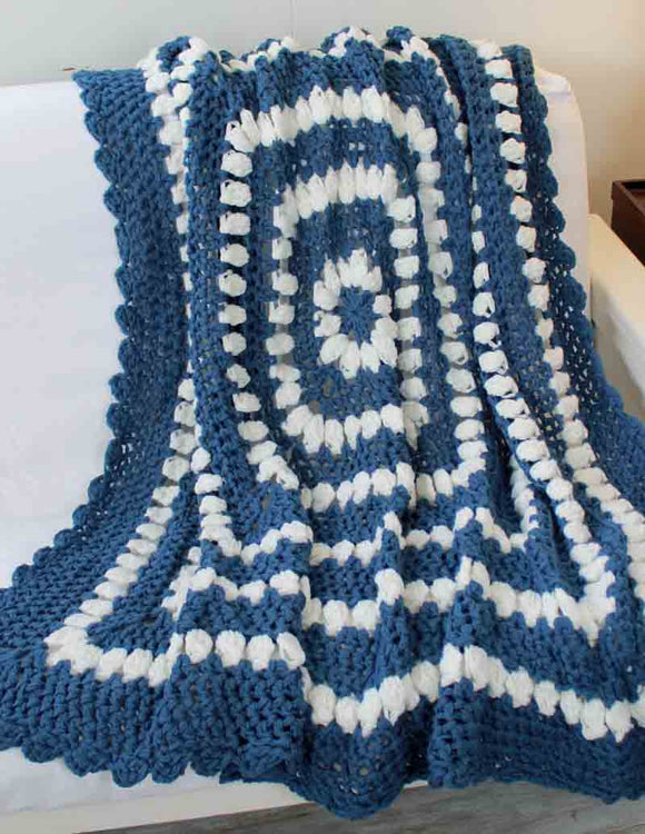 Country Clusters Afghan Crochet Pattern - Maggie's Crochet