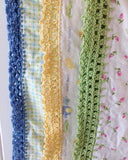 Receiving Blanket Eyelet Edging Crochet Pattern - Maggie's Crochet
