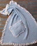 Lullaby Cotton Afghan & Pillow Set - Maggie's Crochet