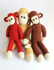 Super Easy Chunky Monkeys Crochet Pattern - Maggie's Crochet