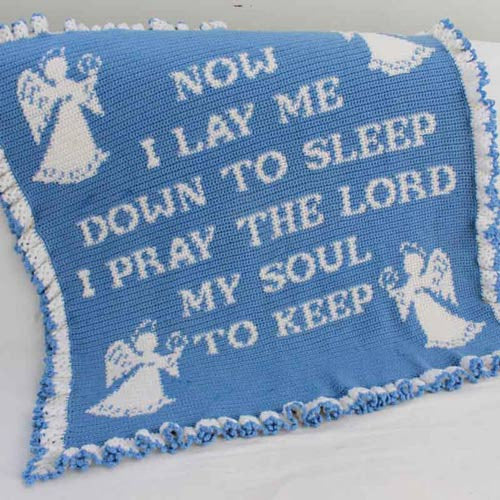 Maggie's Crochet Brand Prayer Afghan Crochet Pattern