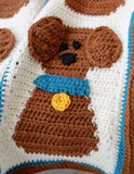 Puppy Love Afghan and Pillow Crochet Pattern - Maggie's Crochet